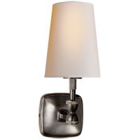 Visual Comfort Thomas OBrien Geary 1 Light Decorative Wall Light in Bronze with Natural Paper Shade TOB2732BZ-NP