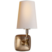 Thomas OBrien Geary 1 Light 5 inch Hand-Rubbed Antique Brass Decorative Wall Light in (None)
