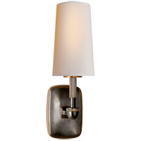 Visual Comfort Thomas OBrien Geary 1 Light Decorative Wall Light in Bronze with Antique Brass with Natural Paper Shade TOB2733BZ/HAB-NP