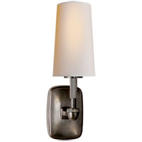 Visual Comfort Thomas OBrien Geary 1 Light Decorative Wall Light in Bronze with Natural Paper Shade TOB2733BZ-NP