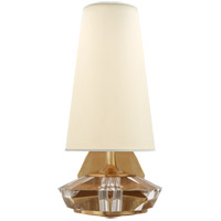 Visual Comfort TOB2905HAB/CG-PL Thomas OBrien Santo 1 Light 7 inch Hand-Rubbed Antique Brass and Crystal Wall Sconce Wall Light