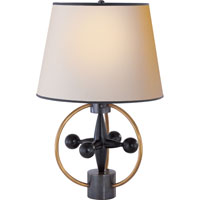 Visual Comfort Thomas OBrien Jack 1 Light Decorative Table Lamp in Antique Brass with Bronze TOB3018HAB/BZ-NP/BT
