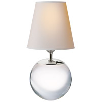 Visual Comfort TOB3023CG-NP Thomas O'Brien Terri 15 inch 75 watt Crystal Decorative Table Lamp Portable Light