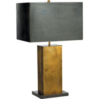 Visual Comfort Thomas OBrien Dixon 2 Light Decorative Table Lamp in Antique Brass with Bronze TOB3033HAB/BZ-BZ