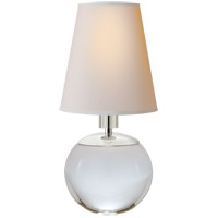 Visual Comfort TOB3051CG-NP Thomas O'Brien Terri 10 inch 40 watt Crystal Decorative Table Lamp Portable Light