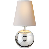 Thomas OBrien Terri 10 inch 40 watt Polished Nickel Table Lamp Portable Light