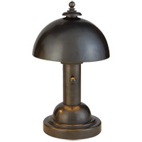 Visual Comfort Thomas OBrien Totie 1 Light Task Table Lamp in Bronze with Wax TOB3142BZ