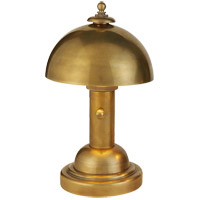 Visual Comfort Thomas OBrien Totie 1 Light Task Table Lamp in Hand-Rubbed Antique Brass TOB3142HAB