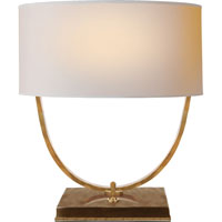 Visual Comfort Thomas OBrien Kenton 2 Light Decorative Table Lamp in Hand-Rubbed Antique Brass TOB3180HAB-NP