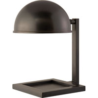 Visual Comfort Thomas OBrien Kevin 1 Light Task Table Lamp in Bronze with Wax TOB3185BZ
