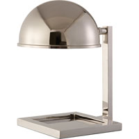 Visual Comfort Thomas OBrien Kevin 1 Light Task Table Lamp in Polished Nickel TOB3185PN