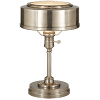 Thomas OBrien Henley 13 inch 60 watt Antique Nickel Task Table Lamp Portable Light