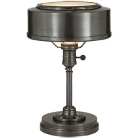 Visual Comfort Thomas OBrien Henley 1 Light Task Table Lamp in Bronze with Wax TOB3197BZ