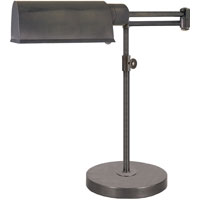 Visual Comfort Thomas OBrien Pask 1 Light Task Table Lamp in Bronze with Wax TOB3200BZ