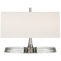 Visual Comfort TOB3241PN/CG-L Thomas OBrien Casper 13 inch 40 watt Polished Nickel and Crystal Desk Lamp Portable Light Small