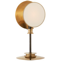 Thomas OBrien Osiris 19 inch 60 watt Bronze and Hand-Rubbed Antique Brass Table Lamp Portable Light, Reflector