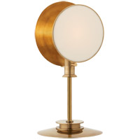 Thomas OBrien Osiris 19 inch 60 watt Hand-Rubbed Antique Brass Table Lamp Portable Light, Reflector