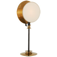 Thomas OBrien Osiris 29 inch 60 watt Bronze and Hand-Rubbed Antique Brass Adjustable Table Lamp Portable Light, Reflector