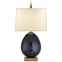 Thomas OBrien Ciro 27 inch 60 watt Mixed Blue Brown Table Lamp Portable Light