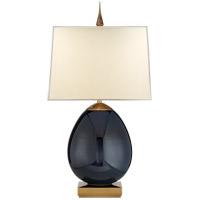 Visual Comfort TOB3386MBB-NP Thomas OBrien Ciro 27 inch 60 watt Mixed Blue Brown Table Lamp Portable Light