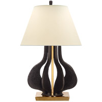 Visual Comfort Aged Iron Table Lamps
