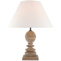 Visual Comfort TOB3452BCO-L Thomas OBrien Piaf 23 inch 60 watt Blonde Cerused Oak Table Lamp Portable Light Medium