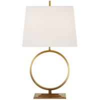 Visual Comfort TOB3630HAB-L Thomas OBrien Simone 28 inch 75 watt Hand-Rubbed Antique Brass Table Lamp Portable Light, Medium