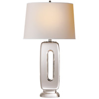 Thomas OBrien Demi 29 inch 100 watt Crystal Table Lamp Portable Light, Thomas O'Brien, Natural Paper Shade