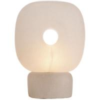 Visual Comfort TOB3746ALB Thomas OBrien Dino 11 inch 12 watt Alabaster Sculpture Table Lamp Portable Light, Thomas O'Brien