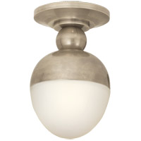 Thomas Obrien Clark 1 Light 8 inch Antique Nickel Flush Mount Ceiling Light