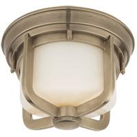 Visual Comfort TOB4011AN-WG Thomas Obrien Milton 1 Light 10 inch Antique Nickel Flush Mount Ceiling Light
