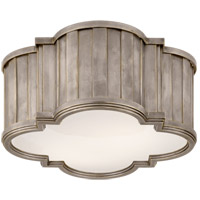 Thomas OBrien Tilden 2 Light 11 inch Antique Nickel Flush Mount Ceiling Light
