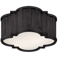 Visual Comfort Thomas OBrien Tilden 2 Light Flush Mount in Bronze TOB4130BZ-WG