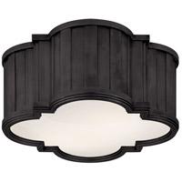 Visual Comfort TOB4130BZ-WG Thomas OBrien Tilden 2 Light 11 inch Bronze Flush Mount Ceiling Light