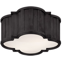Thomas OBrien Tilden 2 Light 11 inch Bronze Flush Mount Ceiling Light