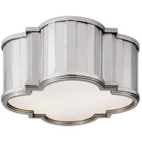 Visual Comfort TOB4130PN-WG Thomas O'Brien Tilden 2 Light 11 inch Polished Nickel Flush Mount Ceiling Light