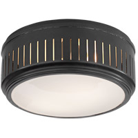 Thomas OBrien Eden 2 Light 10 inch Bronze Flush Mount Ceiling Light