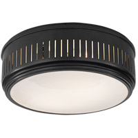 Thomas OBrien Eden 2 Light 13 inch Bronze Flush Mount Ceiling Light