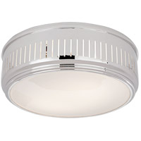 Visual Comfort TOB4162PN-WG Thomas O'Brien Eden 2 Light 13 inch Polished Nickel Flush Mount Ceiling Light