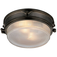 Visual Comfort TOB4206BZ-CG Thomas Obrien Garey 2 Light 11 inch Bronze Flush Mount Ceiling Light