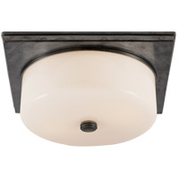 Visual Comfort TOB4216BZ-WG Thomas Obrien Newhouse 2 Light 12 inch Bronze Flush Mount Ceiling Light