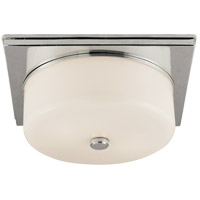 Visual Comfort TOB4216PN-WG Thomas Obrien Newhouse 2 Light 12 inch Polished Nickel Flush Mount Ceiling Light