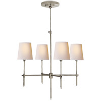Thomas Obrien Bryant 4 Light 26 inch Antique Nickel Chandelier Ceiling Light