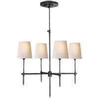 Visual Comfort Thomas OBrien Bryant 4 Light 26 inch Bronze Chandelier Ceiling Light TOB5002BZ-NP - Open Box
