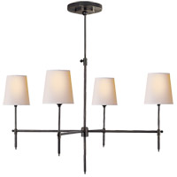 Thomas Obrien Bryant 4 Light 36 inch Bronze Chandelier Ceiling Light