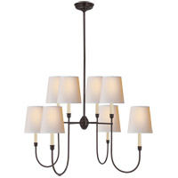 Visual Comfort TOB5008BZ-NP Thomas O'Brien Vendome 8 Light 36 inch Bronze Chandelier Ceiling Light