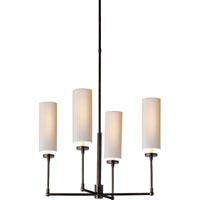 Visual Comfort Thomas OBrien Ziyi 4 Light Chandelier in Bronze TOB5015BZ-NP photo thumbnail
