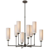 Thomas OBrien Ziyi 8 Light 34 inch Bronze Chandelier Ceiling Light