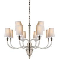 Visual Comfort TOB5033PN-NP Thomas OBrien Vivian 12 Light 36 inch Polished Nickel Chandelier Ceiling Light