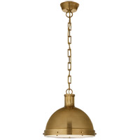 Visual Comfort TOB5069HAB Thomas Obrien Hicks 2 Light 13 inch Hand-Rubbed Antique Brass Pendant Ceiling Light, Large